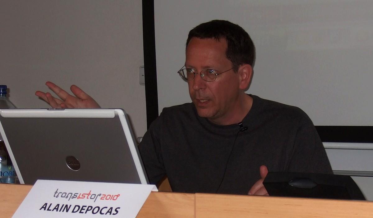 Alain Depocas se ve svém příspěvku zaměřil na nadaci DLF a projekt DOCAM