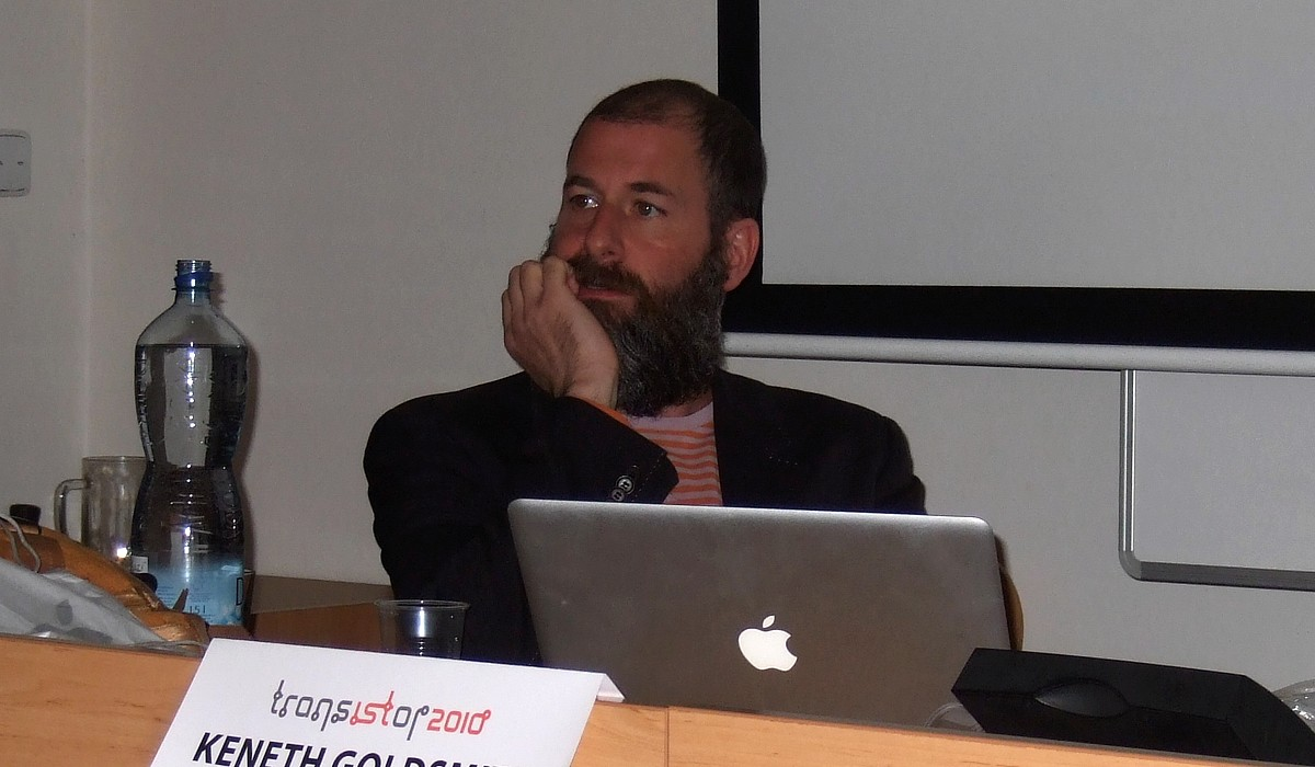 Kenneth Goldsmith představil svůj portál UbuWeb a pohovořil o otázkách přístupu k umění