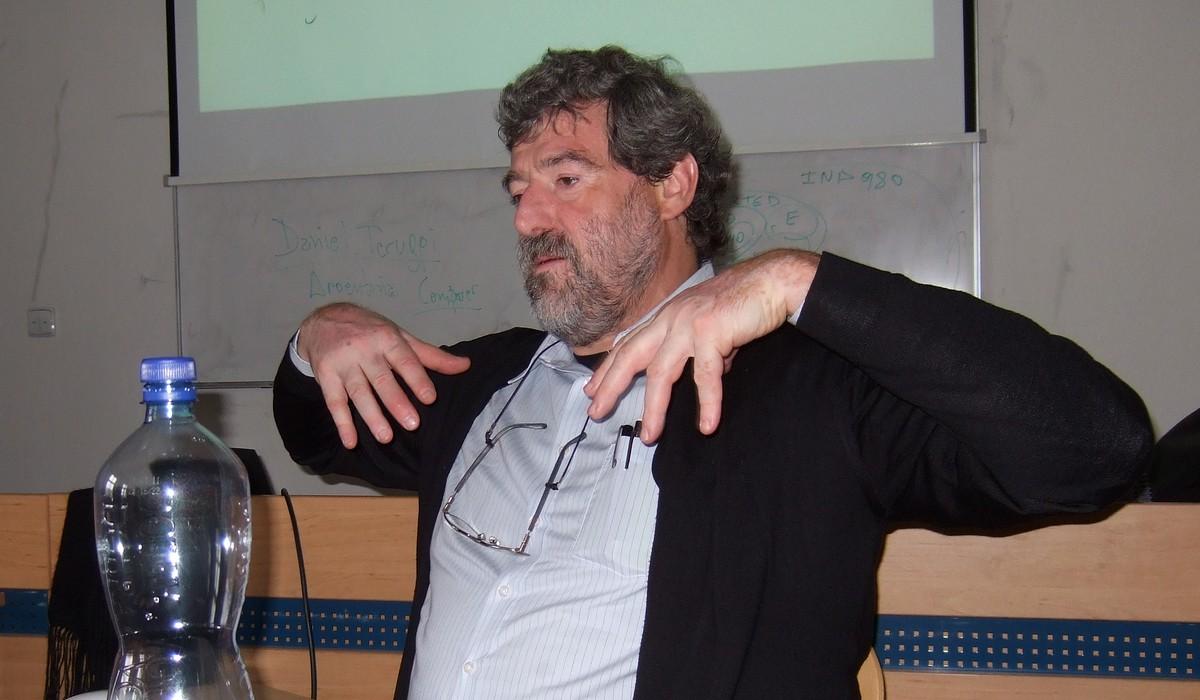 Daniel Teruggi hovoří o mezinárodním projektu PrestoSpace