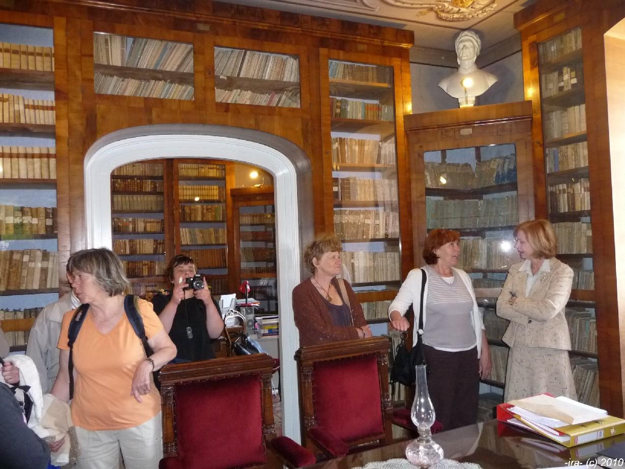 Historická knihovna městského muzea v Trogiru