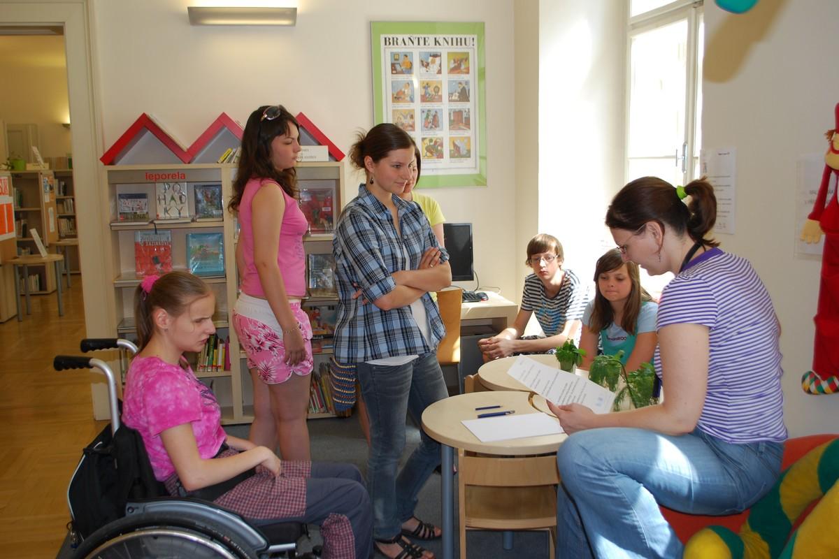 Integrační program pro děti ZŠ pro zrakově postižené, Brno, Kamenomlýnská 2 a ze ZŠ Antonínská na téma Svět magie