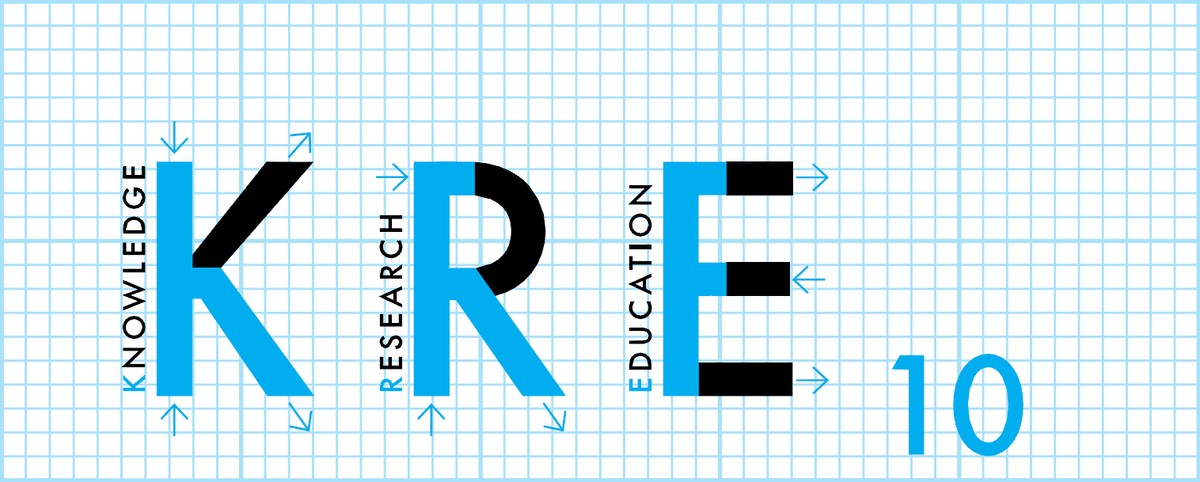 Logo konference KRE (Knowledge, Research and Education)