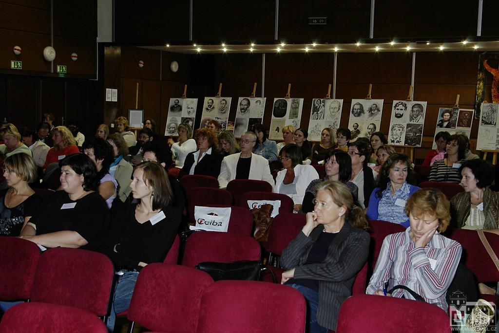 Obr. 1: Přednáškový sál v ZUŠ v České Lípě