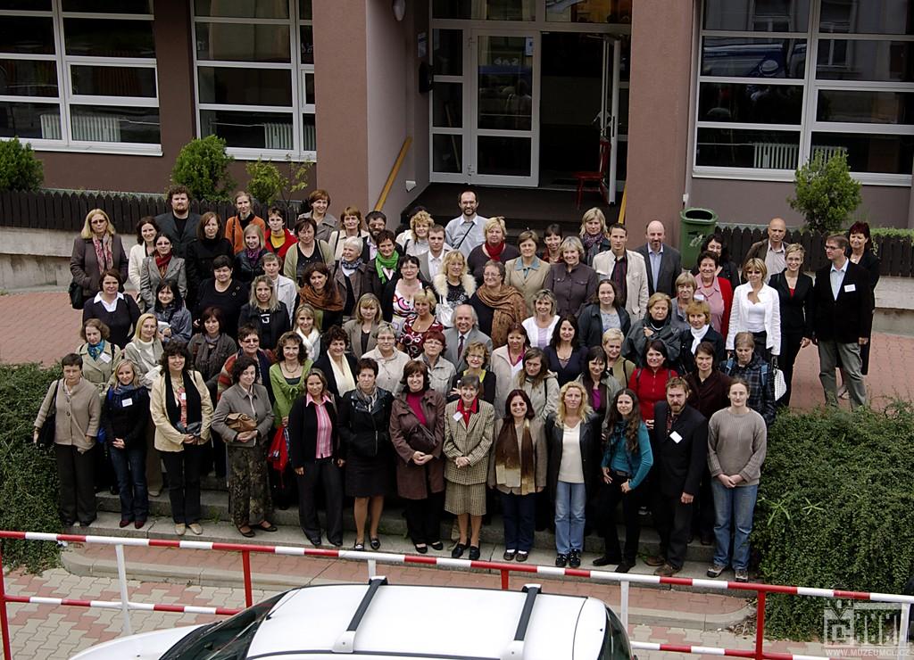 Účastníci semináře komise muzejních knihovníků