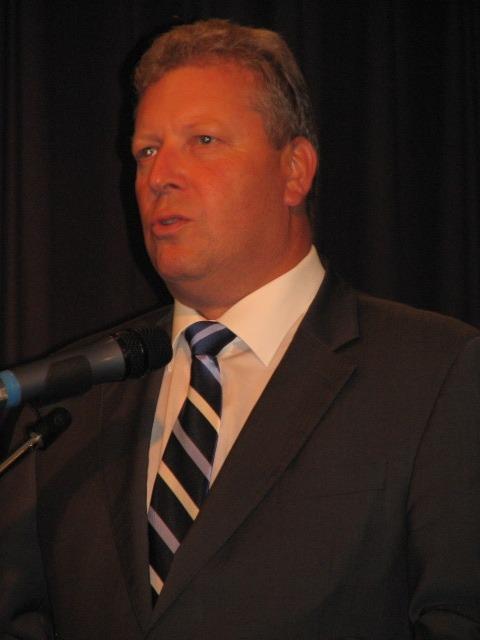 První části předávání cen byl přítomen také ministr kultury Jiří Besser