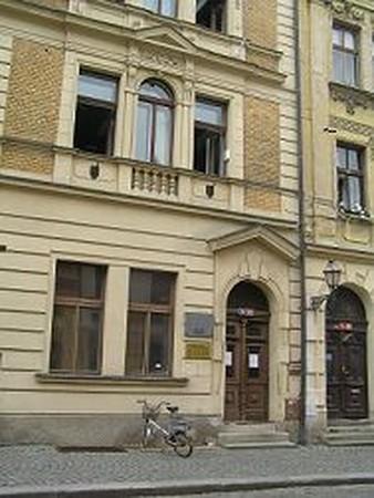 Budova hudebního oddělení
