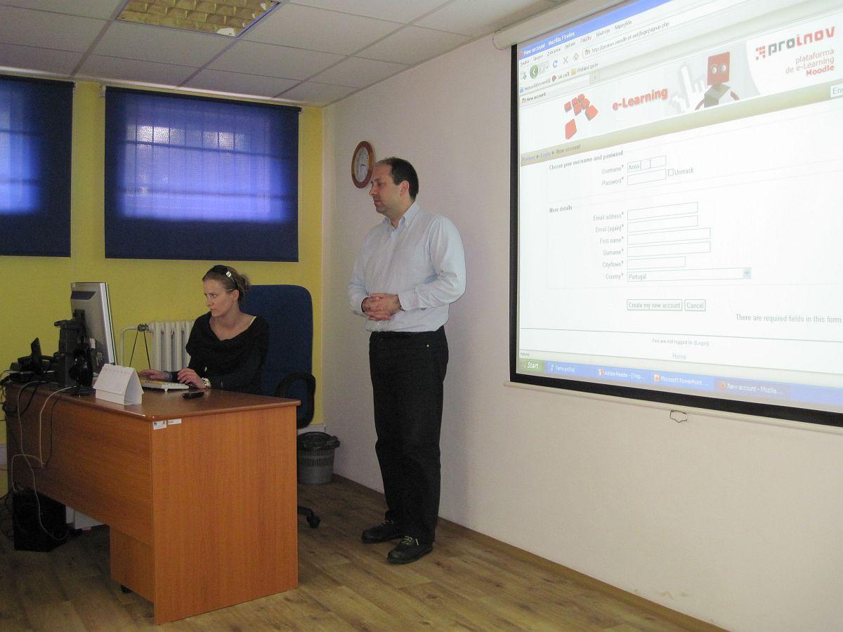 Obr. 2: Druhé pracovní setkání v Kroměříži