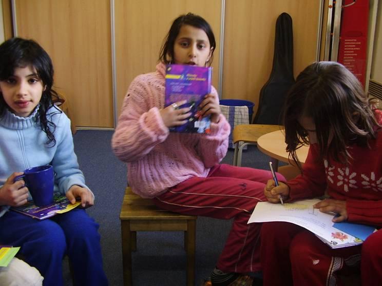 Cyklus čtení s názvem Anička a Toník čtou nám všem