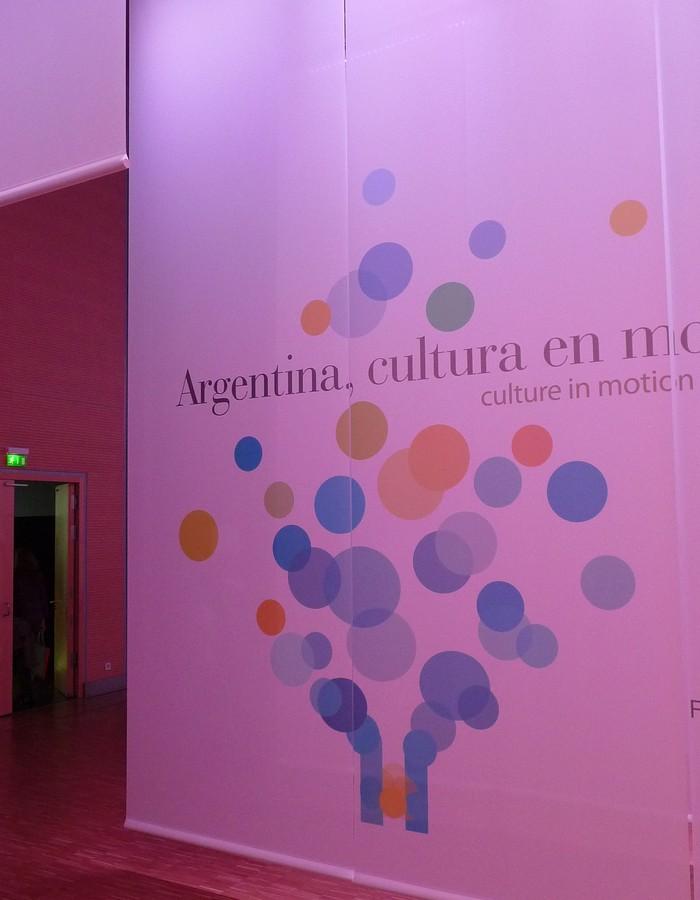 Obr. 8: Logo argentinské expozice