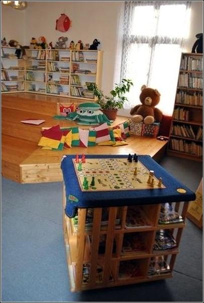 Dětské oddělení turnovské knihovny