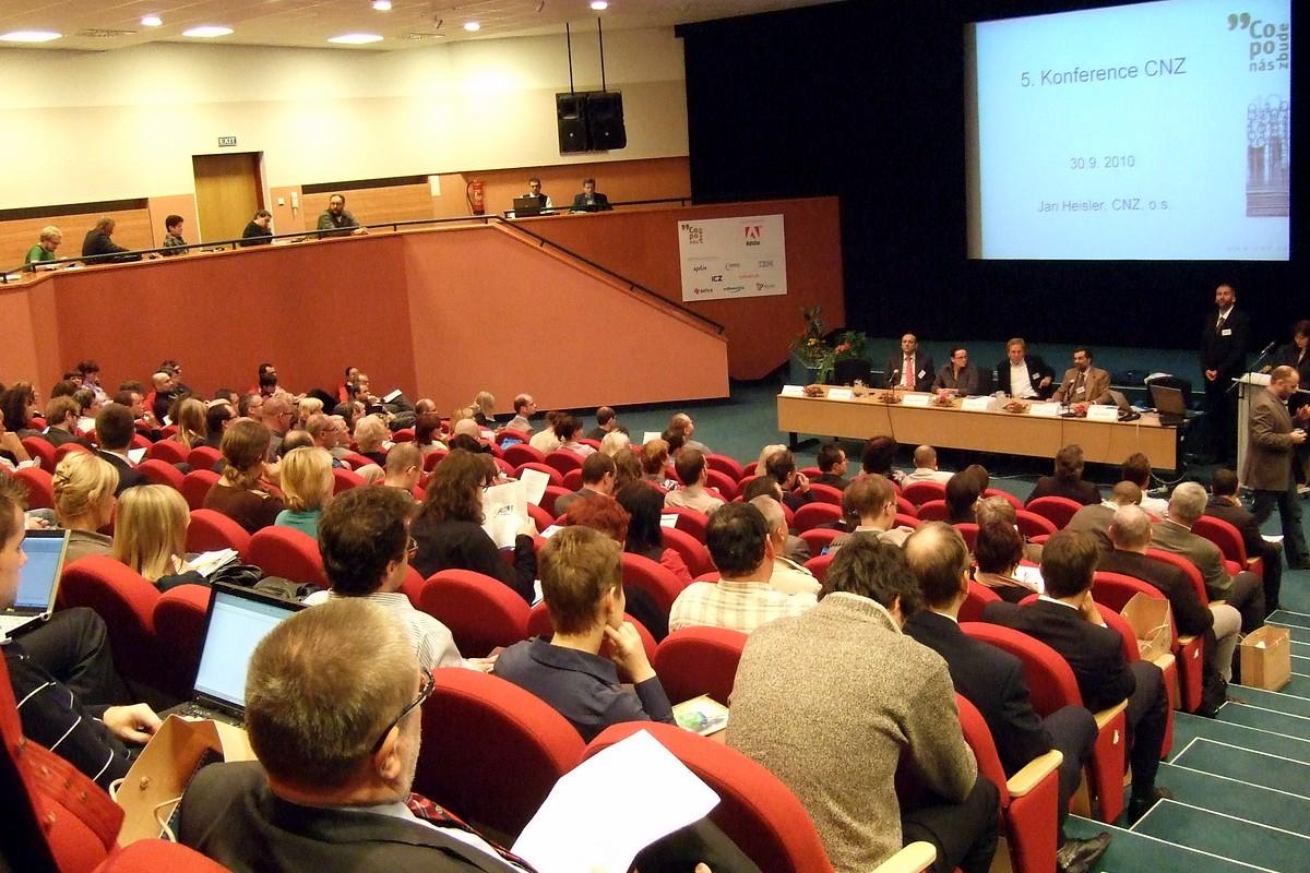 Zahájení konference CNZ 2010