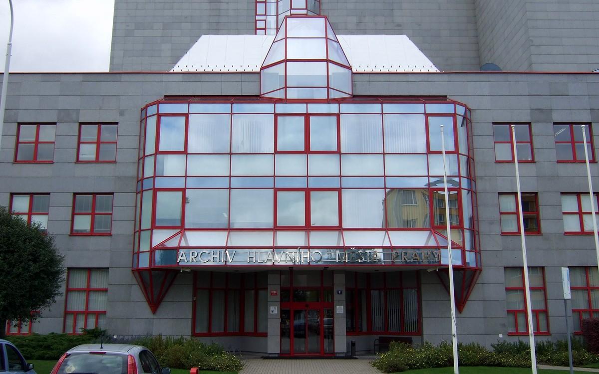 Budova Archivu hlavního města Prahy
