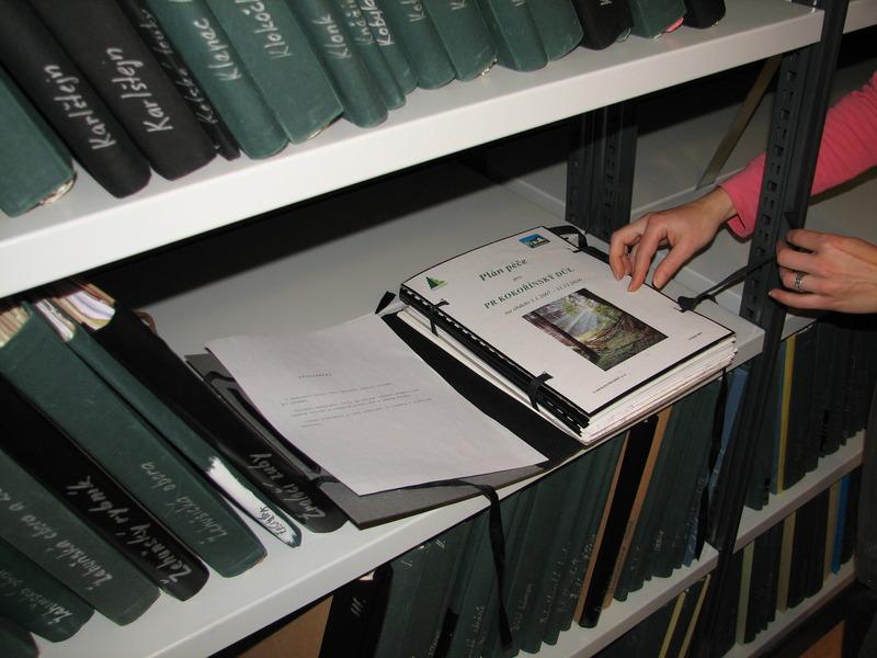 Ukázky dokumentů z archivu