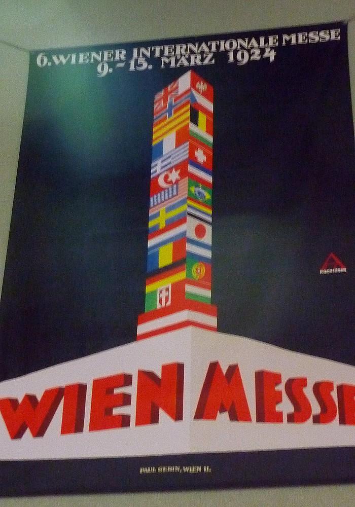 Plakáty starších vídeňských veletrhů