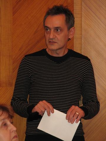 Roman Blumentrit, vedoucí knihovny