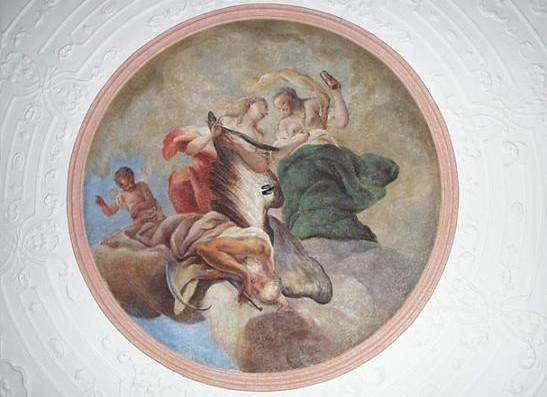 Obnova nástěnné fresky