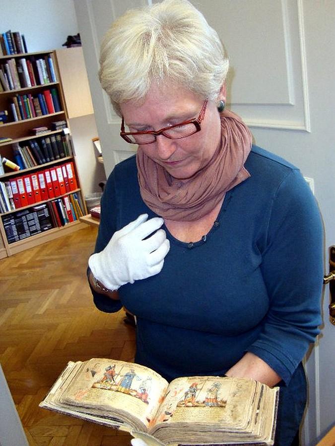 Vedoucí knihovny Oberösterreichische Landesmuseen Waltraud Faißner