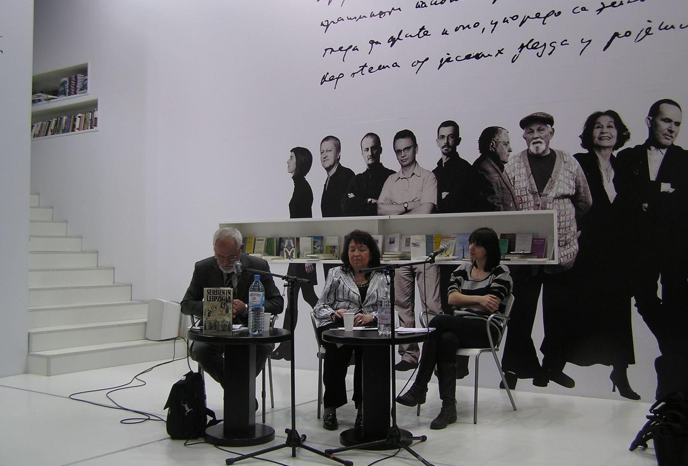 Představení knihy Serben in Leipzig