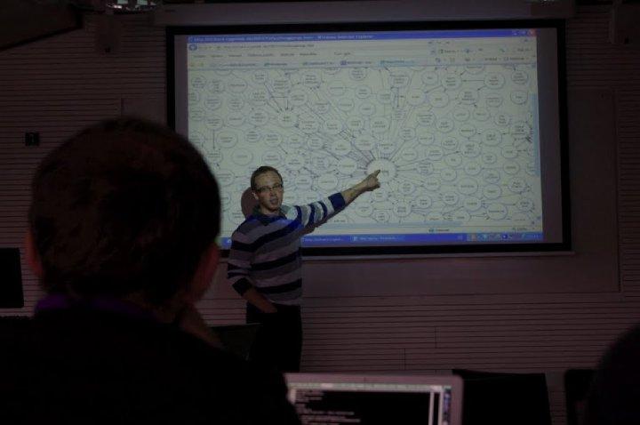 Martin Nečaský na diskusi o otevřených datech ve veřejné správě