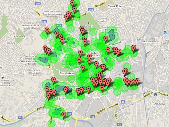 Mapa brněnských heren představená Janem Bočkem