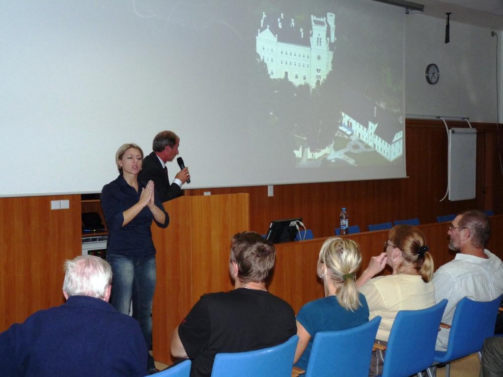 Přednáška pro veřejnost o obnově zámku v Chýších