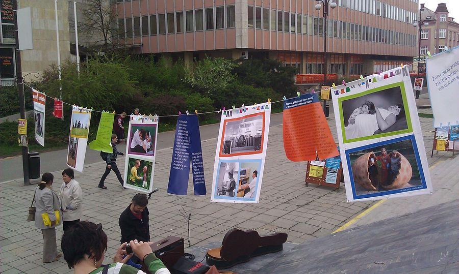 Pár snímků z projektu Rovné příležitosti