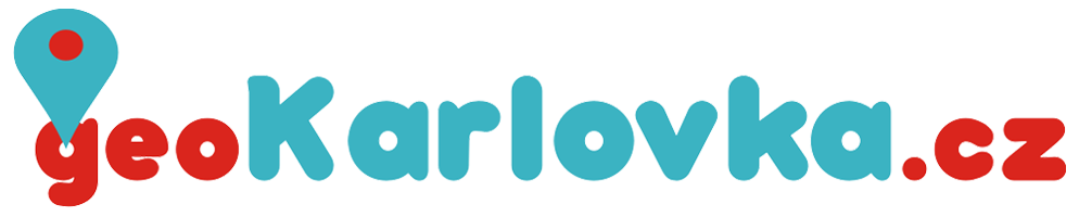 Logo projektu geoKarlovka