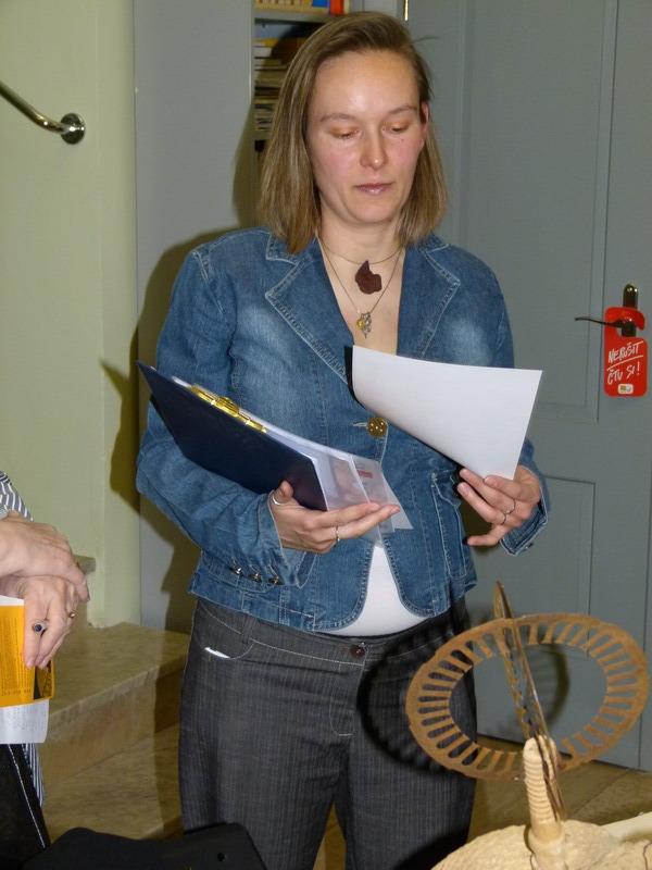 Simona Chlumská, vedoucí knihovny