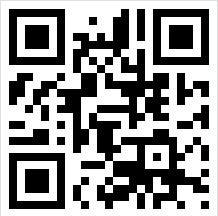 Příklad QR kódu. Zakódovanou informací je webová adresa www.ikaros.cz