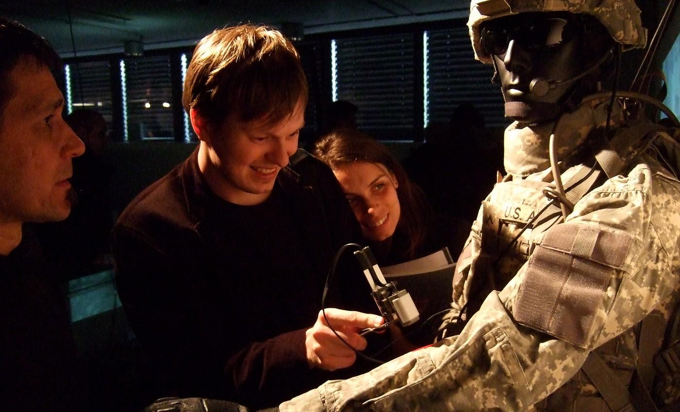 Projekt Sound of CAMO, který generuje zvuky podle vzorku na uniformě
