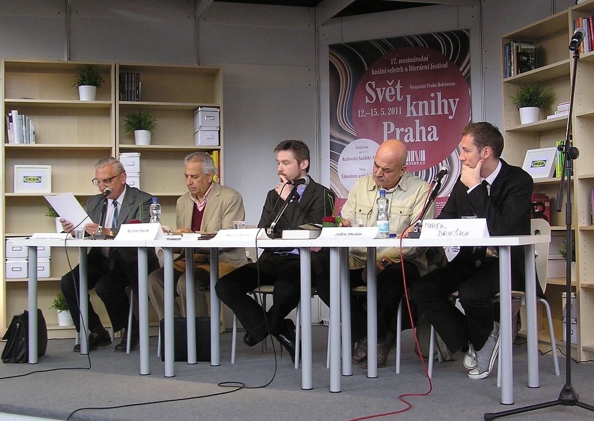 Panel s názvem velikáni arabské literatury včeských překladech
