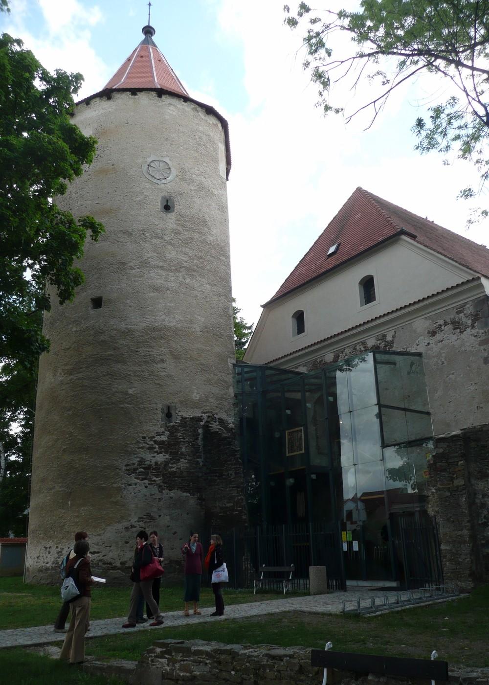 Soběslavská knihovna v útrobách gotického hradu