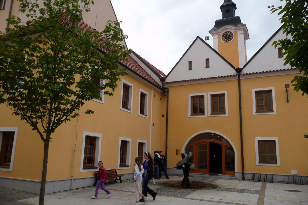 Budova radnice v novém hávu