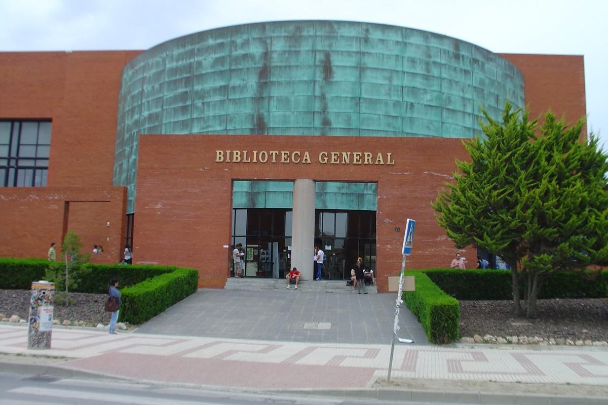 Centrální knihovna University of Málaga ve Španělsku