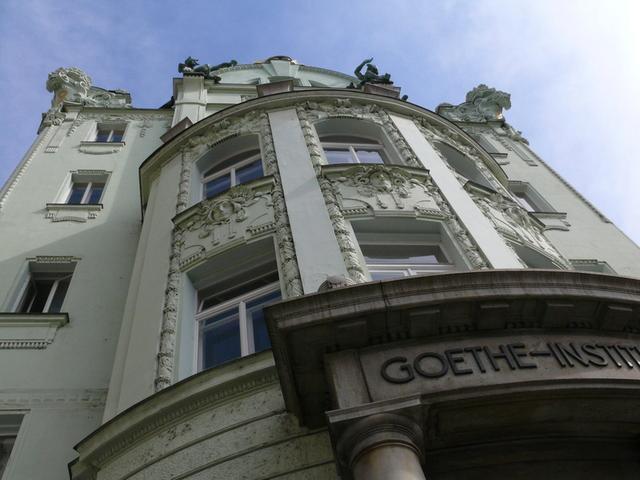 Goethe-Institut zvenčí