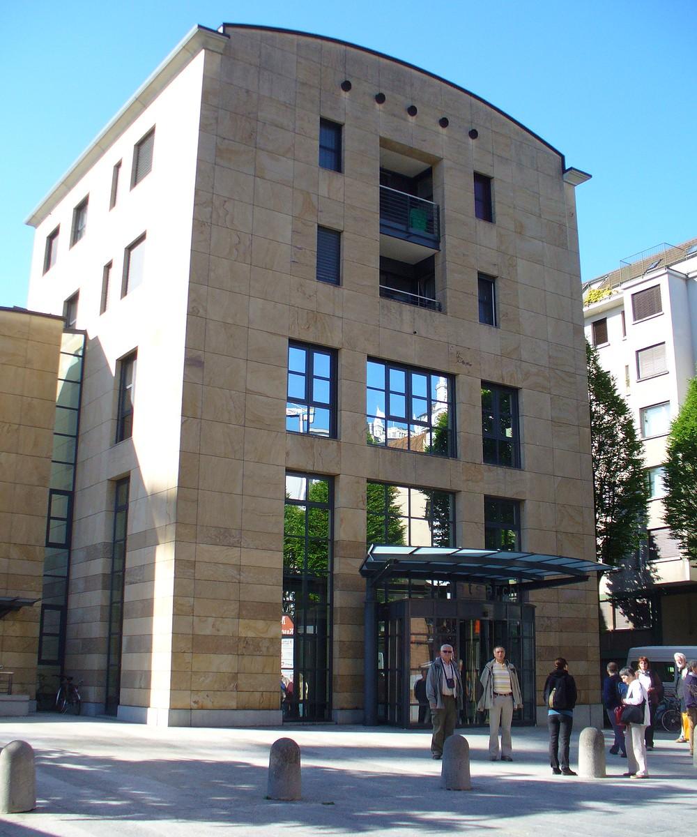 Budova kantonálního archivu v Luzernu