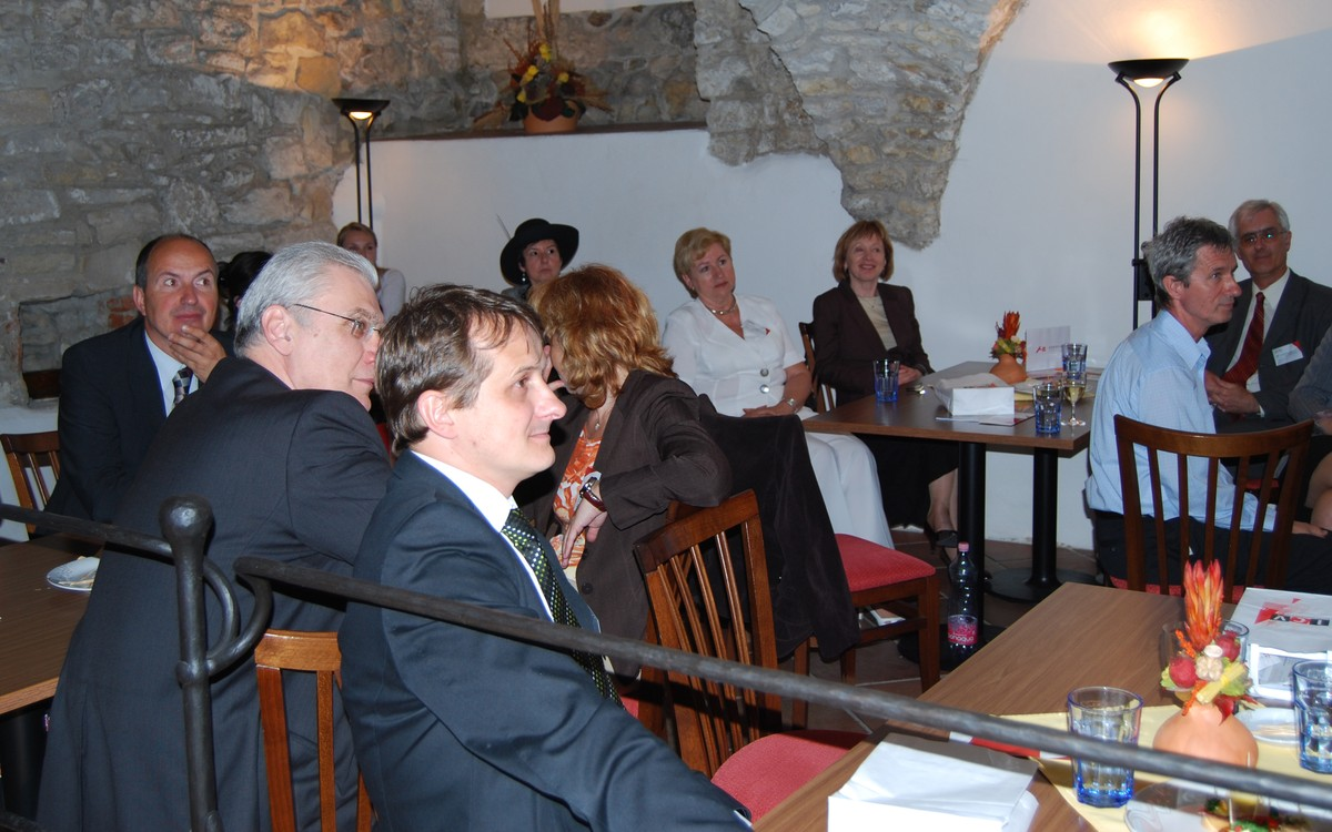 Účastníci slavnostního setkání