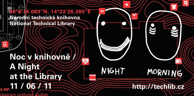 Pozvánka na muzejní noc s motivem Dana Perjovschiho