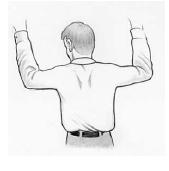 Obr. 2: Procvičení svalů ramenního pletence