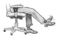 Obr. 5: Cvičení pro bederní oblast zad