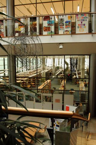 Z návštěvy Krajské vědecké knihovny v Liberci