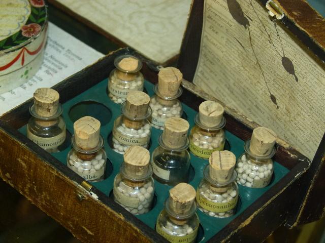Z exponátů Zdravotnického muzea