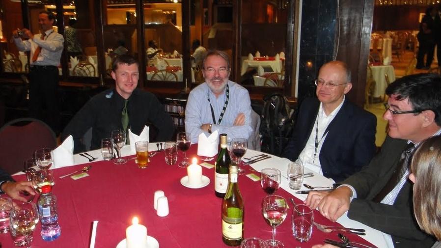 Nick Woods, Mark Bide, Julian Sowa a Paul Jessop