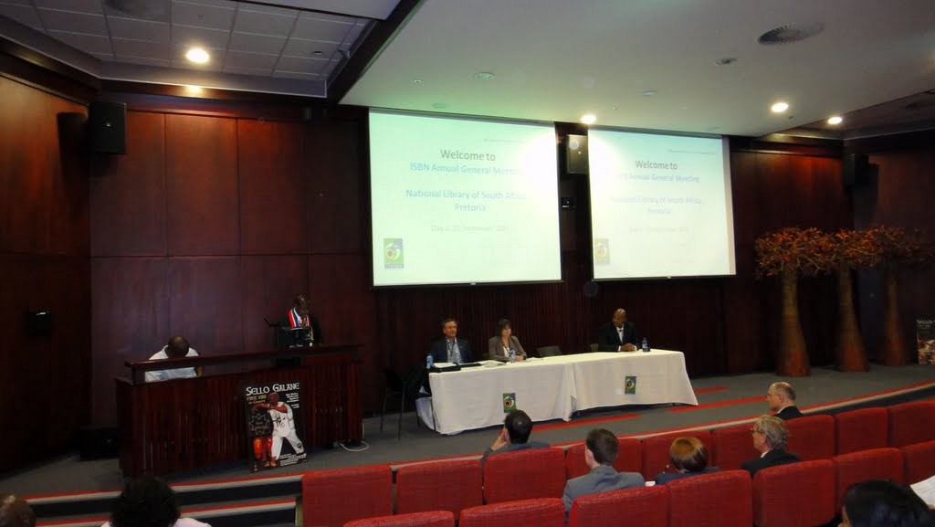 Zahájení 39. výročního zasedání Mezinárodní agentury ISBN