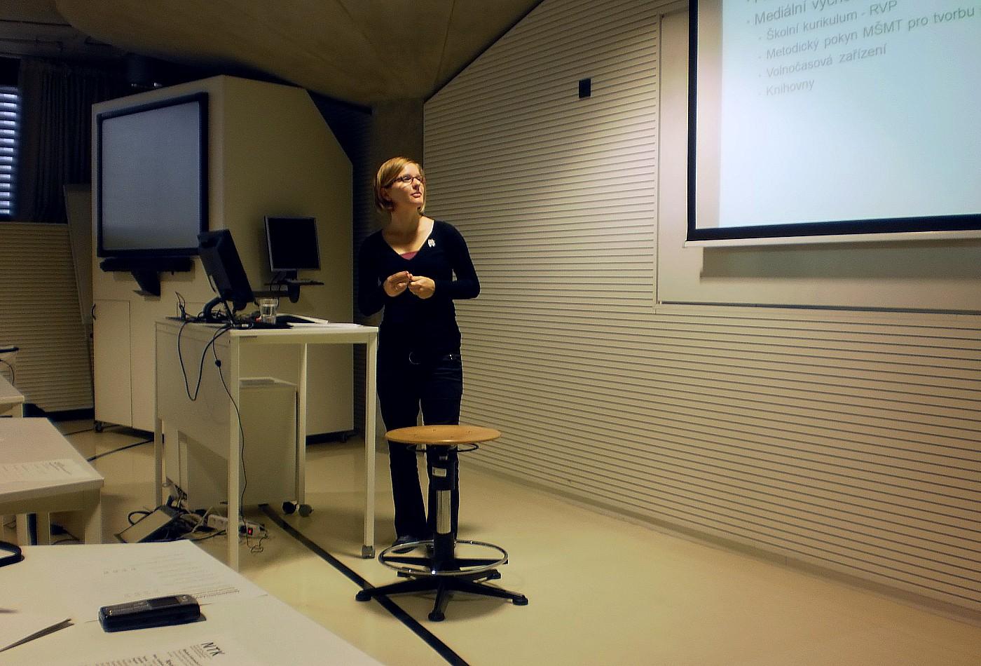 Anna Mašková hovoří o významu mediální výchovy