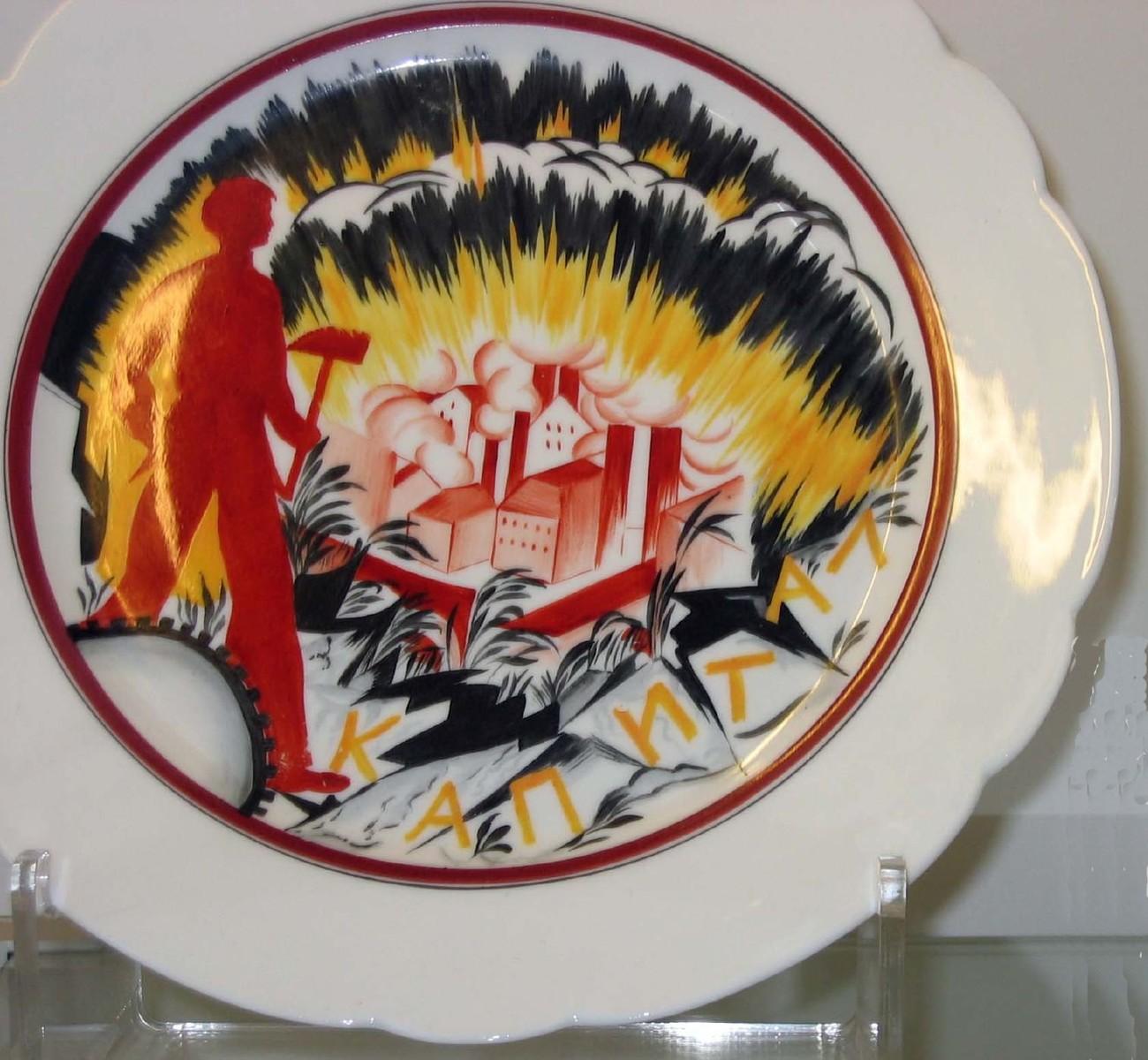 Ruský revoluční talíř