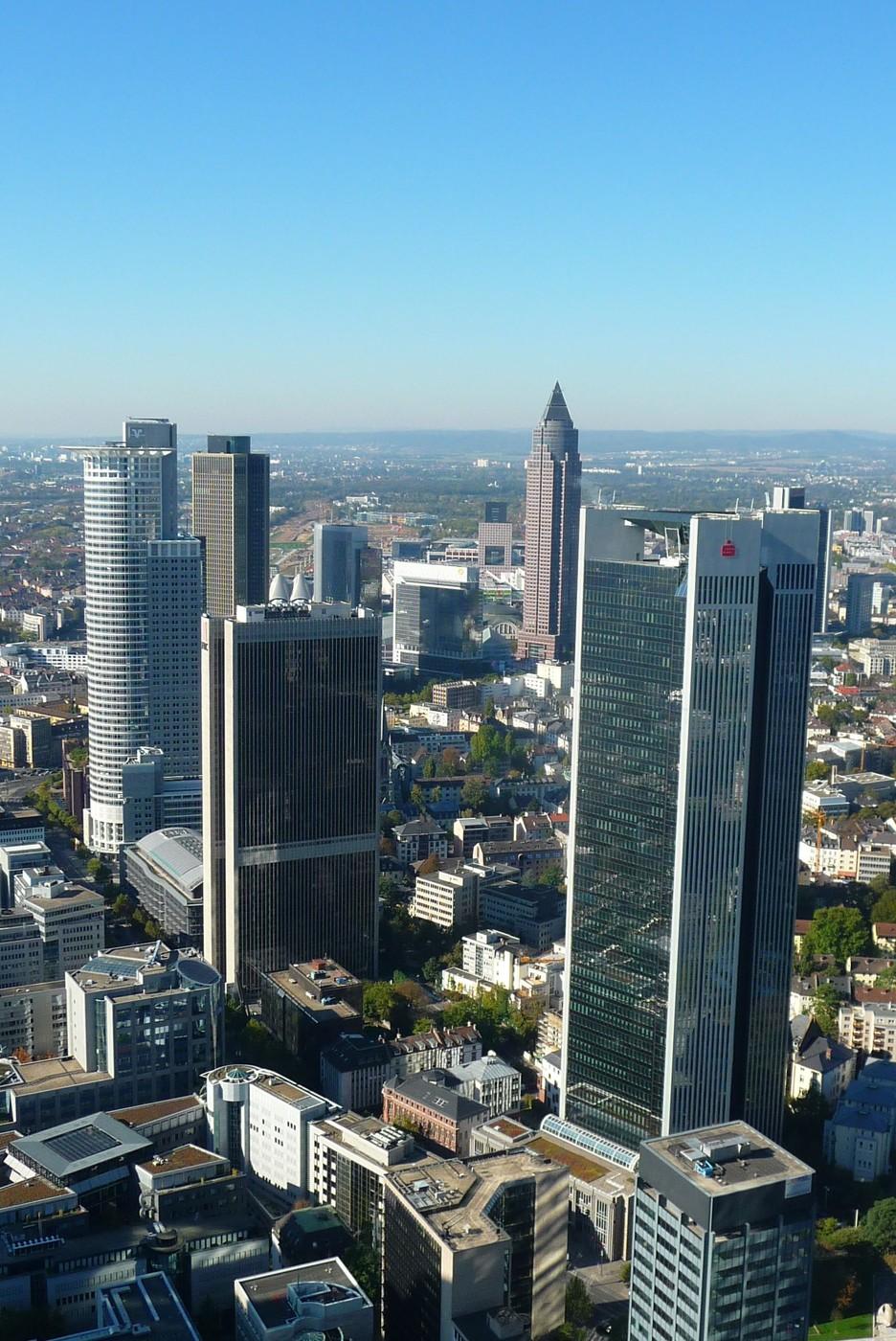Pohled na moderní město