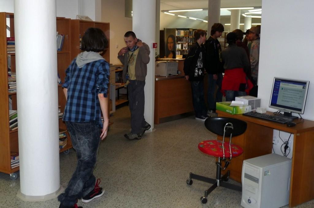 Otevření nové knihovny