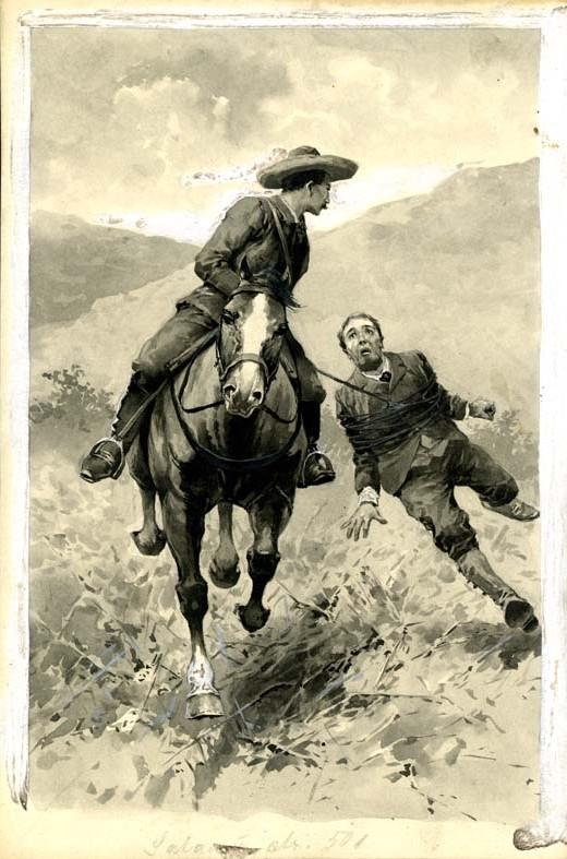 Ilustrace Věnceslava Černého z roku 1906