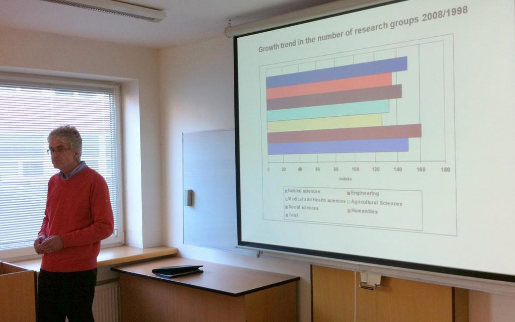 Stojan Pečlin z Lublaňské univerzity porovnal stav vědy na Slovinsku a v dalších evropských zemích